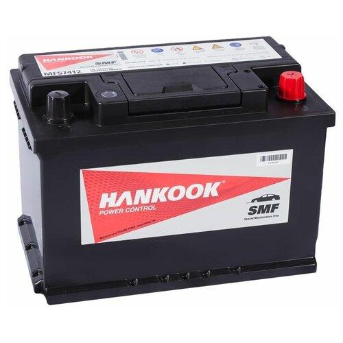 Автомобильный аккумулятор Hankook MF57412 74 Ач