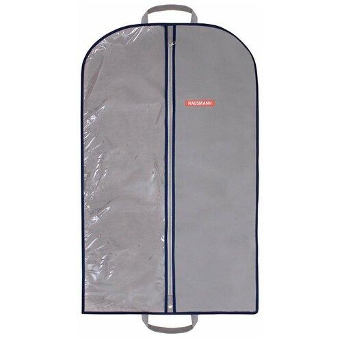 HAUSMANN Чехол для одежды HM-701002 100x60 см серый hausmann кофр для хранения hm 6a 202 60x45x30 см серый