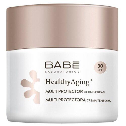 BABE Laboratorios Мультизащитный дневной лифтинг крем для лица антивозрастной с DMAE и SPF-30, 50 мл недорого