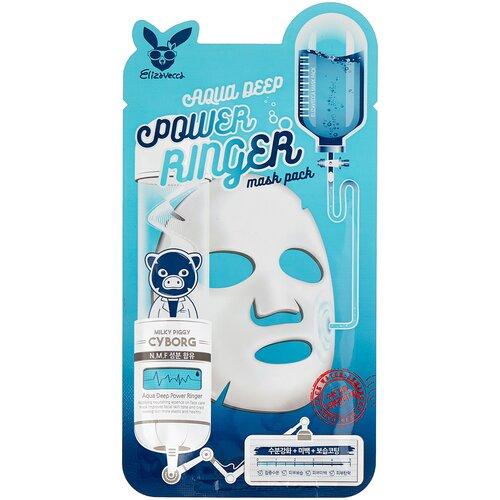 Elizavecca Увлажняющая тканевая маска Aqua Deep Power Ringer Mask Pack, 23 мл недорого