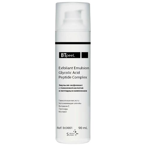 Купить BTpeel эмульсия-эксфолиант Exfoliating Cleanser с гликолевой кислотой и пептидным комплексом 90 мл