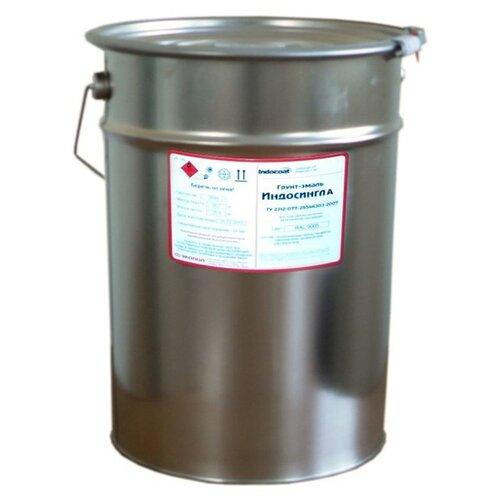 Эмаль алкидная (А) ECOPOL IndoCoat Индосингл А RAL 6020 1 кг
