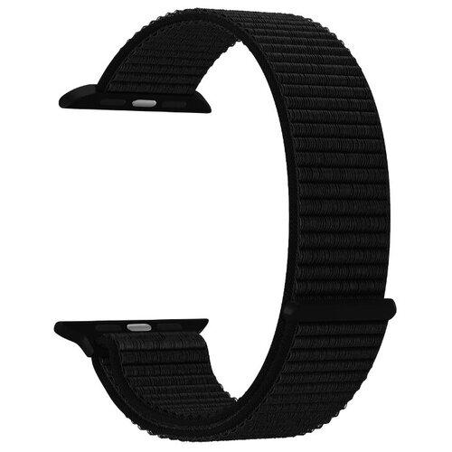 Фото - Нейлоновый ремешок для Apple Watch 42/44 mm LYAMBDA VEGA DS-GN-02-44-9 Black нейлоновый ремешок для apple watch 42 44 mm lyambda vega ds gn 02 44 6 gray white