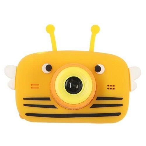Фото - Фотоаппарат Сима-ленд Children's Fun Camera Bee Пчела желтый автобус сима ленд 1011448 25 см желтый