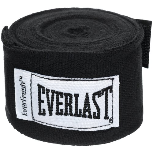 Кистевые бинты Everlast 4463 2,5 м черный