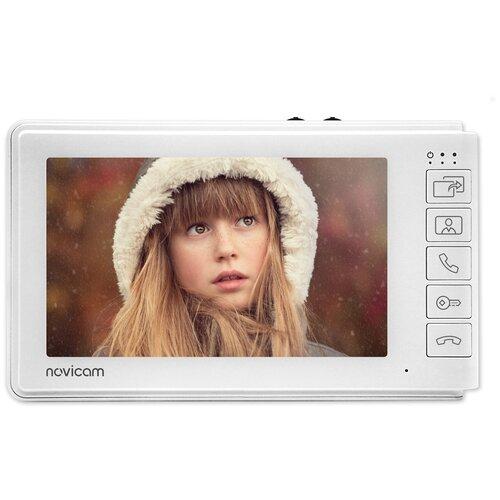 Видеодомофон NOVIcam SMILE 7C с встроенным МСК (ver.4820)