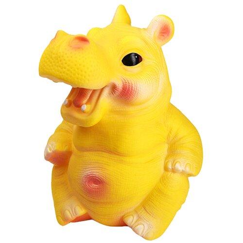 Фото - Игрушка для ванной ОГОНЁК Бегемот Боря (С-832) желтый игрушка для ванной огонёк утенок с 355 желтый красный