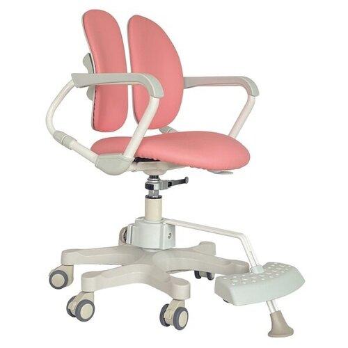 компьютерное кресло duorest kids max детское обивка искусственная кожа цвет светло зеленый Компьютерное кресло DUOREST Kids DR-280DDS детское, обивка: искусственная кожа, цвет: milky pink