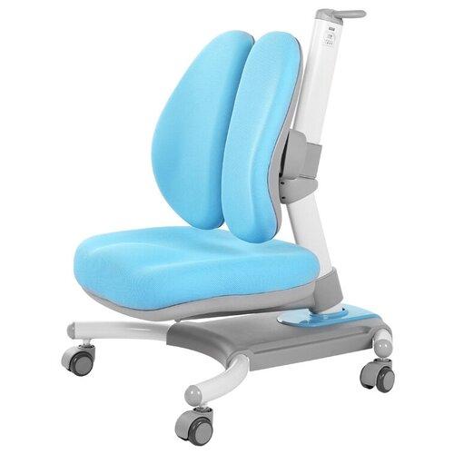 Компьютерное кресло RIFFORMA Comfort-32 с чехлом детское, обивка: текстиль, цвет: голубой компьютерное кресло rifforma comfort 32 с чехлом детское обивка текстиль цвет розовый