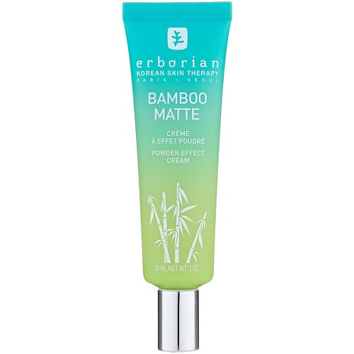 Купить Erborian Bamboo Matte Powder Effect Cream крем для лица с бамбуком, 30 мл