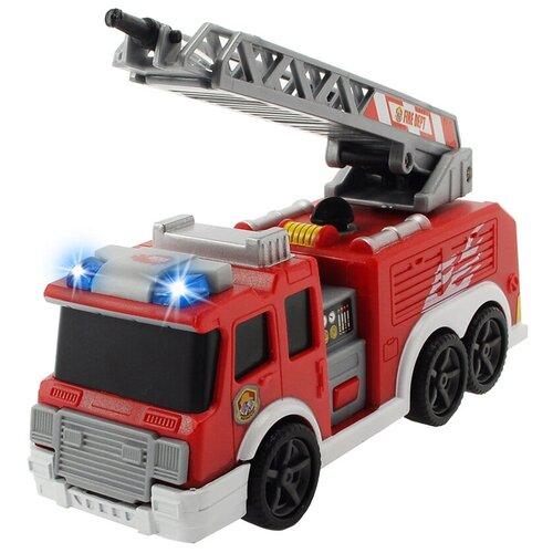 Фото - Пожарный автомобиль Dickie Toys 3302002, 15 см, красный гидроцикл dickie toys пожарный сэм джуно с фигуркой и аксессуарами 9251662 красный желтый