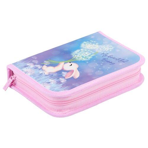 Купить Berlingo Пенал Cute bunny (PK06052) голубой/розовый, Пеналы