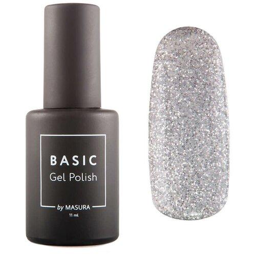 Купить Гель-лак для ногтей Masura Basic, 11 мл, звезды