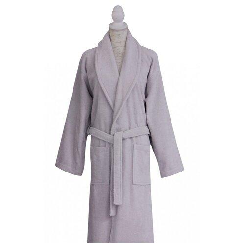 Халат c вышивкой Роза Grey (серый) GulLogoNakisGrey-424