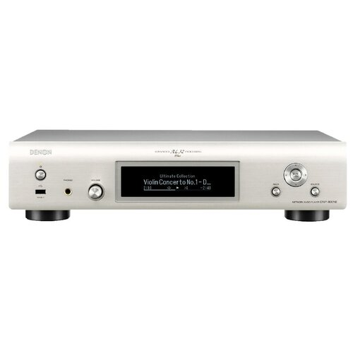 Фото - Сетевой аудиоплеер Denon DNP-800NE, серебристый сетевой аудиоплеер onkyo ns 6170