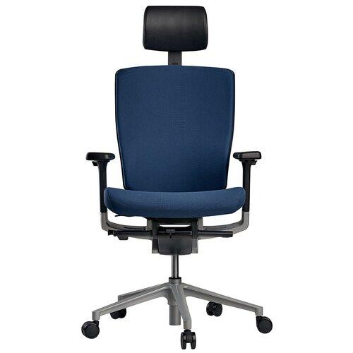 Эргономичное компьютерное кресло Schairs AEON-P01S NAVY