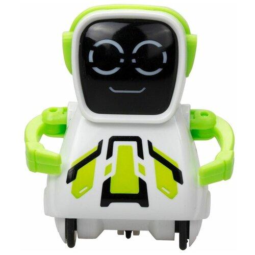 Фото - Робот Silverlit Pokibot Квадратный зеленый интерактивная игрушка робот silverlit macrobot оранжевый