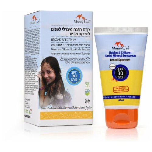 Купить Mommy Care молочко Babies and children Mineral facial Sunscreen, SPF 30, 60 мл