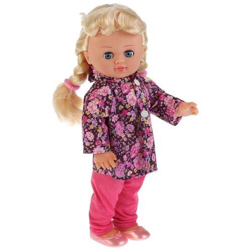 Купить Кукла интерактивная Полина поет песенку и читает стихи, с кольцом и резиночками, 2 вида, KARAPUZ, Куклы и пупсы