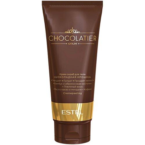 Фото - ESTEL Крем-скраб для тела Otium Chocolatier Шоколадная крошка, 200 мл estel professional бальзам otium chocolatier белый шоколад 200 мл