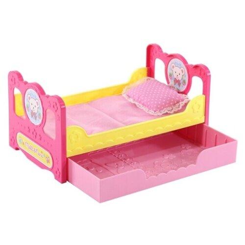 512463 Кровать с ящиком для куклы Мелл. KAWAII MELL