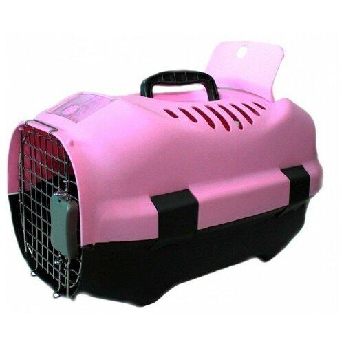 Фото - Клиппер-переноска для кошек и собак Родные места D01 30х29х47 см розовый клиппер переноска для собак imac linus cabrio 50х32х34 см розовый