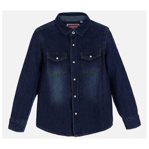 Купить Рубашка Original Marines размер 128, синий, Рубашки