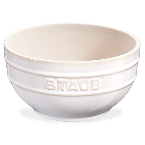 Миска , диаметр: 14 см, материал: керамика, цвет: белый, STAUB