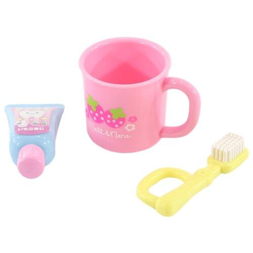 512852 Набор для чистки зубов для куклы Мелл. KAWAII MELL