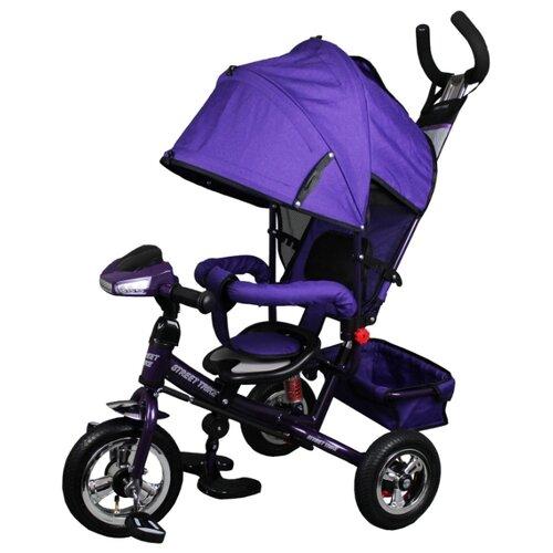 Купить Трехколесный велосипед Street trike A-03-E, сиреневый, Трехколесные велосипеды