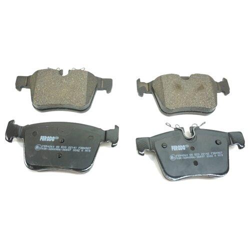 Фото - Дисковые тормозные колодки задние Ferodo FDB4927 для Jaguar, Land Rover, Volvo (4 шт.) дисковые тормозные колодки задние nibk pn1243 для toyota land cruiser prado 4 шт