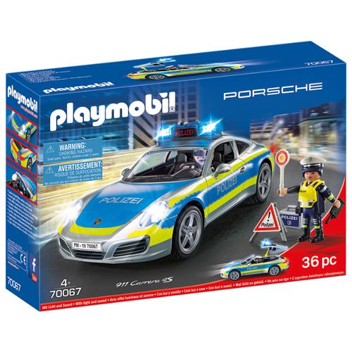 Конструктор Playmobil City Life 70067 Porsche 911 Carrera 4S Полицейский