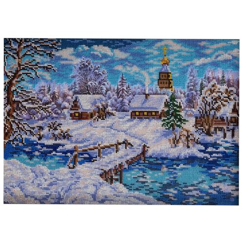 Купить Радуга бисера Набор для вышивания Рождественская сказка 27 x 38 см (В-240), Наборы для вышивания