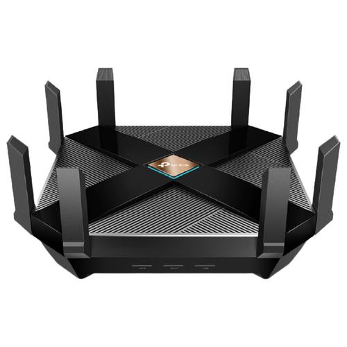 Фото - Wi-Fi роутер TP-LINK Archer AX6000, черный wi fi роутер tp link archer c6u черный