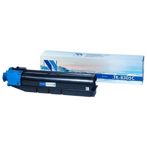 Фото - Картридж NV Print TK-8305 Cyan для Kyocera, совместимый картридж nv print tk 8335 cyan для kyocera совместимый