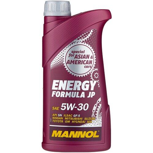Фото - Синтетическое моторное масло Mannol Energy Formula JP 5W-30 (пластик) 1 л минеральное моторное масло mannol outboard universal 1 л