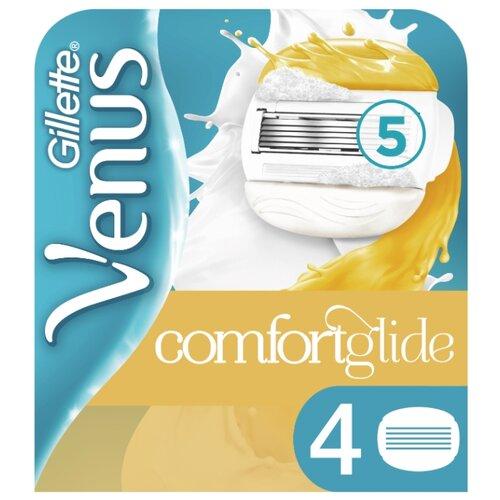 Venus & Olay Сменные лезвия, 4 шт. venus swirl сменные лезвия 2 шт