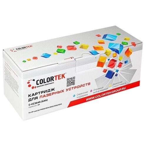 Фото - Картридж лазерный Colortek CT-CC364A (64A) для принтеров HP картридж лазерный colortek ct kx fat400a7 400a для принтеров panasonic
