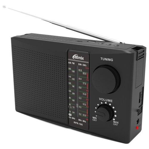 Радиоприемник Ritmix RPR-195 черный