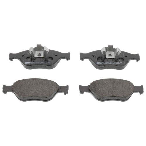 Фото - Дисковые тормозные колодки передние Ferodo FDB1394 для Mazda, Ford (4 шт.) дисковые тормозные колодки передние ferodo fdb4446 для mazda 3 mazda cx 3 4 шт