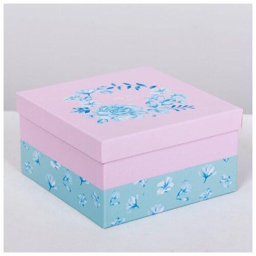 Фото - Набор подарочных коробок Дарите счастье Нежность, 3 шт. набор подарочных коробок дарите счастье нежность 3 шт розовый