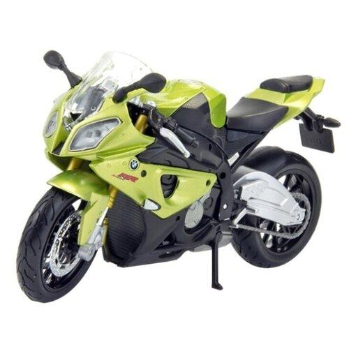 Купить Мотоцикл Maisto BMW S1000RR (39300/2) 1:18 зеленый, Машинки и техника