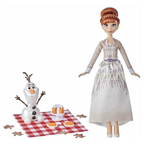 Купить Игровой набор Hasbro Холодное сердце 2 Осенний пикник Анны и Олафа F1583, Игровые наборы и фигурки