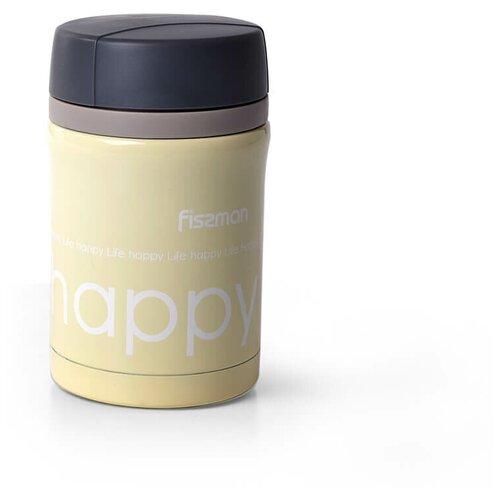 Термос для еды Fissman happy желтый