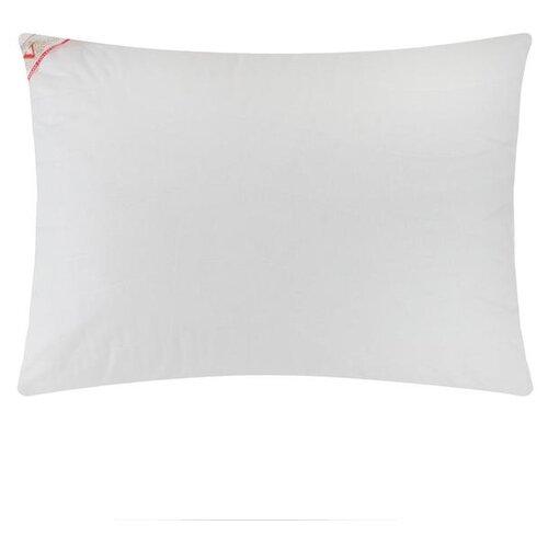 Подушка на молнии VESTA текстиль Бамбук, 70*70 см, белый, перкаль (хлопок 100%)