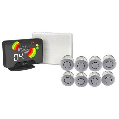 Фото - Парктроник модель AAALine LCD-18 Silver парктроник