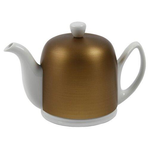 Фото - Чайник заварочный Salam White (0.7 л), с колпаком, на 4 чашки 216411 Guy Degrenne чайник заварочный salam white 0 37 л с колпаком с ситечком на 2 чашки 211987 guy degrenne