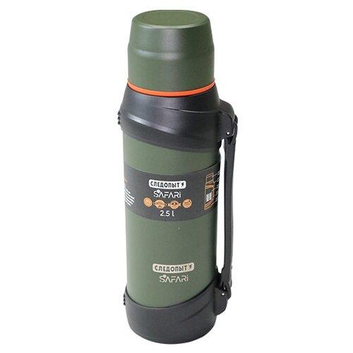 Классический термос СЛЕДОПЫТ PF-TM-16, 2.5 л зелeный