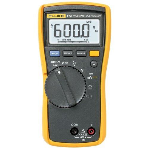 Мультиметр цифровой FLUKE 114 черный/желтый недорого