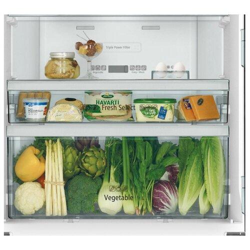 Двухкамерный холодильник Hitachi R-WB 562 PU9 GBK черное стекло